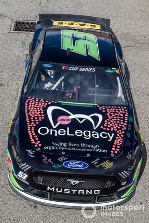 Joey Gase, Rick Ware Racing, Ford Mustang One Legacy
