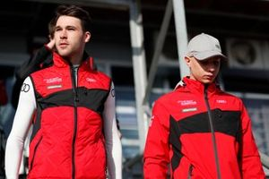 Kelvin van der Linde, Rookie Test Driver for Audi Sport ABT Schaeffler, Mattia Drudi, Rookie Test Driver for Audi Sport ABT Schaeffler