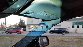 Pilares transparentes de coche