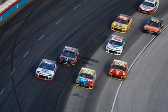 Ryan Preece, JTG Daugherty Racing, Chevrolet Camaro Kroger, Clint Bowyer, Stewart-Haas Racing, Ford Mustang Mobil 1 / Rush Truck Centers, /c18, Kyle Larson, Chip Ganassi Racing, Chevrolet Camaro McDonaldÕs.