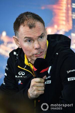 Спортивный директор Renault F1 Team Алан Пермейн