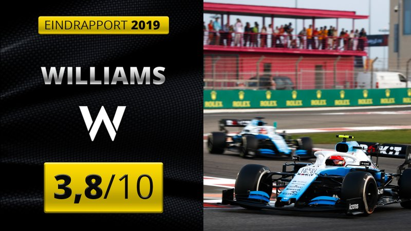 Eindrapport Williams 2019