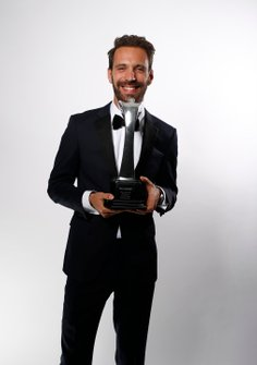Jean-Eric Vergne with the Moment of the Year Award