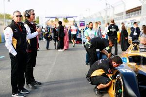 Mark Preston, Team Principal, DS Techeetah on the grid