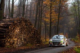 LUKYANUK Alexey, ARNAUTOV Alexey, Citroen C3 R5, Rally Hungary, FIA ERC