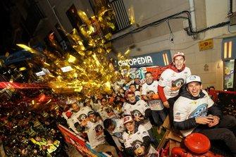 Marc Márquez and brother Álex celebrate titles in Cervera