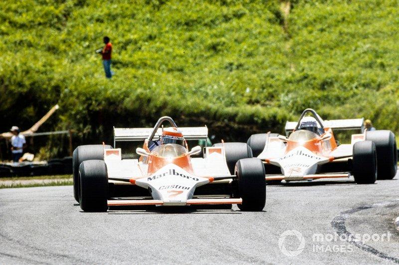 John Watson, McLaren, Alain Prost, McLaren