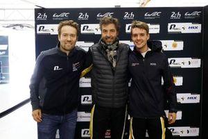 Pole sitter GTE-AM: #56 Team Project 1 Porsche 911 RSR: Egidio Perfetti, Matteo Cairoli, David Heinemeier Hansson