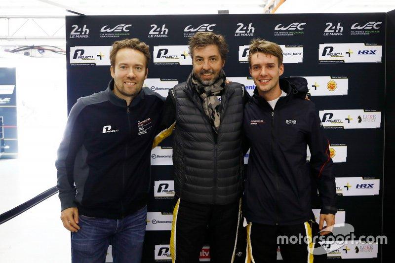 Pole position GTE-AM: #56 Team Project 1 Porsche 911 RSR: Egidio Perfetti, Matteo Cairoli, David Heinemeier Hansson