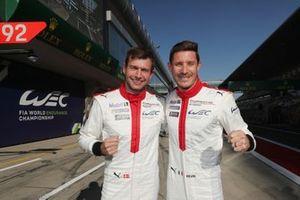 Pole sitter GTE Pro: #92 Porsche GT Team Porsche 911 RSR - 19: Michael Christensen, Kevin Estre