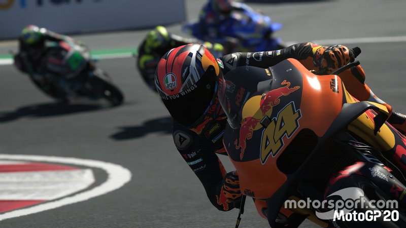 Screenshot di MotoGP20
