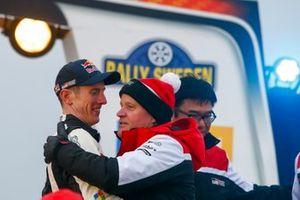 Elfyn Evans, Scott Martin, Toyota Gazoo Racing WRT Toyota Yaris WRC with Tommi Makinen, Toyota Gazoo Racing