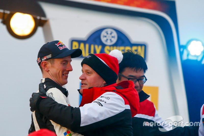 Elfyn Evans, Scott Martin, Toyota Gazoo Racing WRT Toyota Yaris WRC con Tommi Makinen, Toyota Gazoo Racing