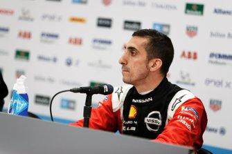 Sébastien Buemi, Nissan e.Dams, in the press conference