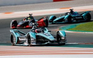 Mitch Evans, Panasonic Jaguar Racing, Jaguar I-Type 4 Lucas Di Grassi, Audi Sport ABT Schaeffler, Audi e-tron FE06, James Calado, Jaguar Racing, Jaguar I-Type 4