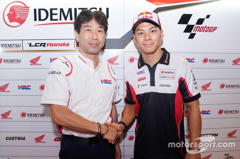Takaaki Nakagami, Team LCR Honda, confirmado para 2020