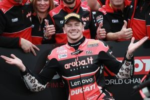 Second place Scott Redding, Aruba.it Racing Ducati