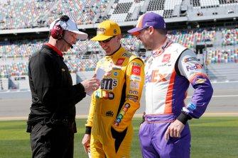 Denny Hamlin, Joe Gibbs Racing, Toyota Camry FedEx Express Kyle Busch, Joe Gibbs Racing, Toyota Camry M&M's Chad Knaus