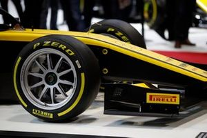 Pirelli unveil their new 18-inch F2 tyres for 2020