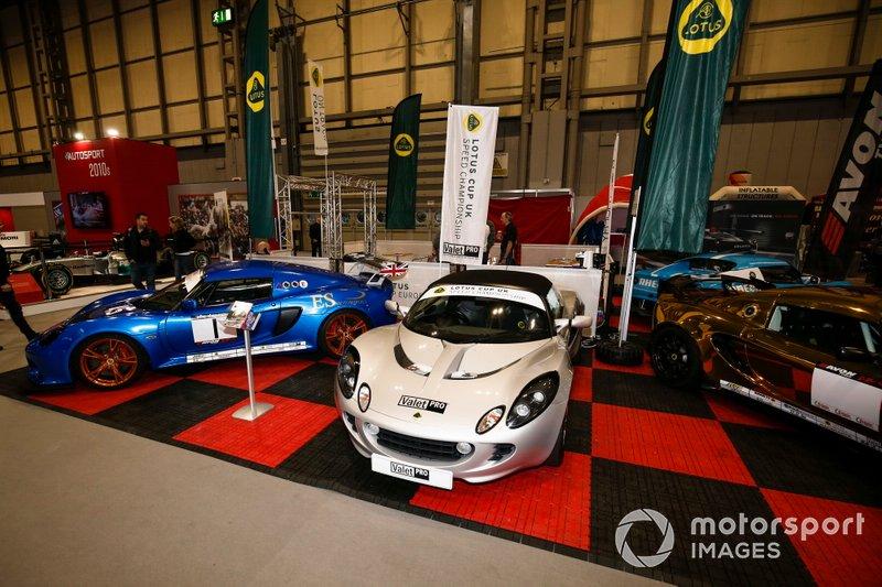 Stand de la Lotus Cup UK