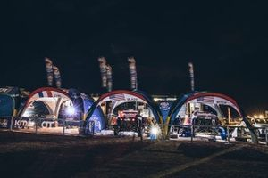 Red Bull Off-Road Team USA bivouac