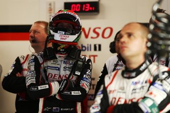 #8 Toyota Gazoo Racing Toyota TS050: Brendon Hartley