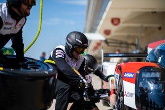 Toyota Gazoo Racing pitstop