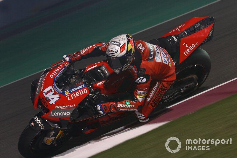10º Andrea Dovizioso, Ducati Team - 1:54.312