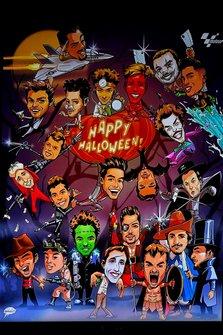 Riders Halloween poster
