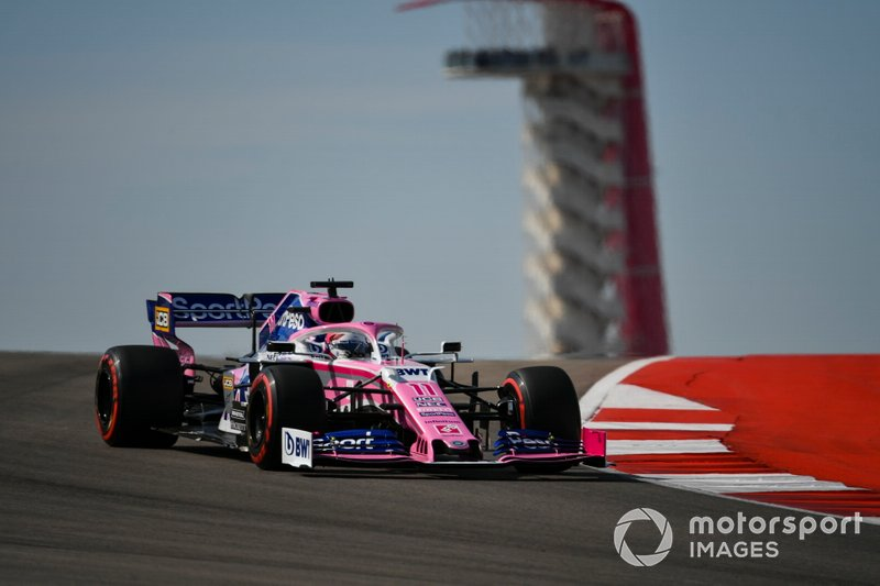 DESDE PITS.- Sergio Perez, Racing Point RP19,