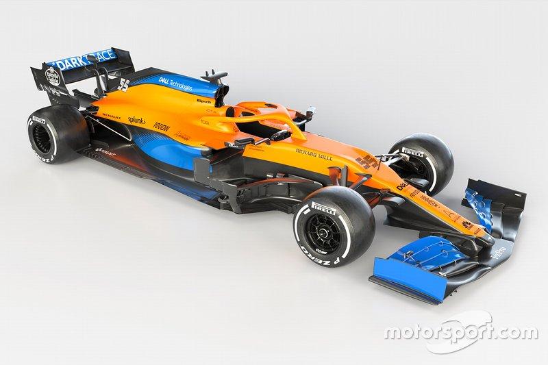 2020年:マクラーレン・ルノーMCL35