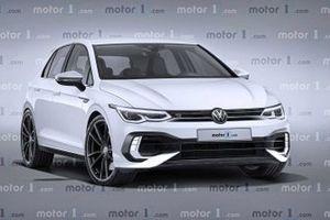 Volkswagen Golf 8 R rendering