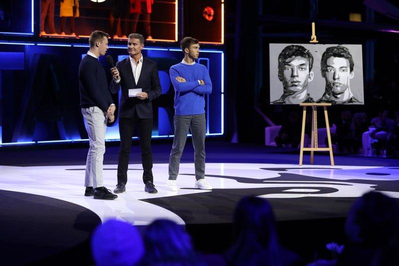 Daniil Kvyat, AlphaTauri, Pierre Gasly, AlphaTauri, David Coulthard