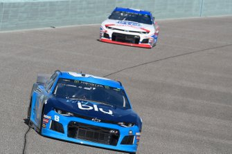Daniel Hemric, Richard Childress Racing, Chevrolet myblu, Ryan Preece, JTG Daugherty Racing, Chevrolet Camaro Kroger