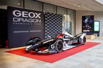 La livrea della Geox Dragon Racing