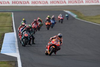 Renn-Action in Motegi: Marc Marquez, Repsol Honda Team, führt