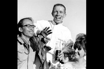 Richie Ginther, Honda, Yoshio Nakamura, al GP del Messico del 1965
