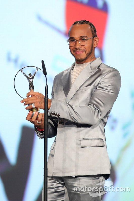 Lewis Hamilton, Laureus 2020