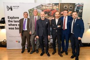 Foto Relatori Conferenza Stampa Motor Valley Fest, 14.02.20