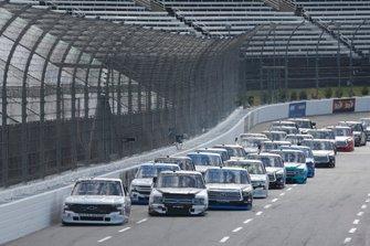 Grant Enfinger, ThorSport Racing, Ford F-150 Curb Records Sam Mayer, GMS Racing, Chevrolet Silverado Manpower
