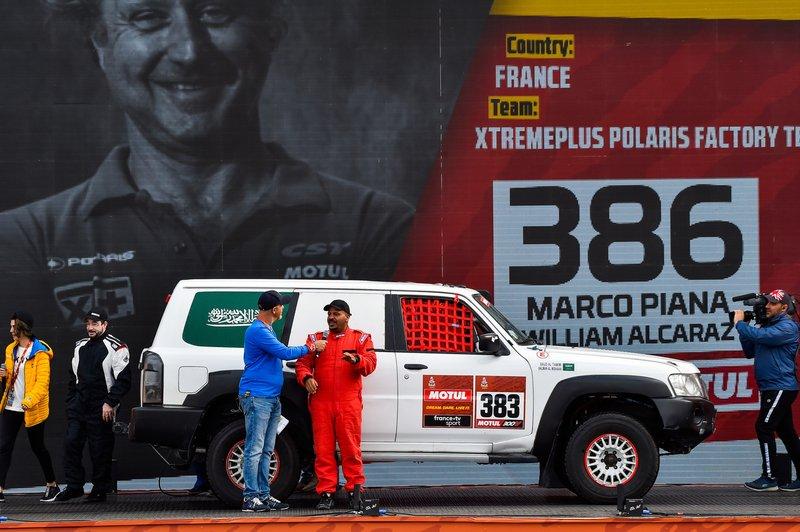 #383 Nissan: Salman Alshummari, Saud Nasser Altamimi