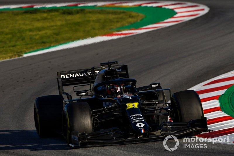 6º Esteban Ocon, Renault R.S.20: 1:16.433 (con neumáticos C5 en la semana 2)