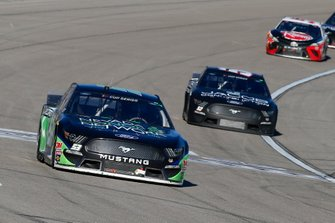 Joey Gase, Rick Ware Racing, Ford Mustang Nevada Donor Network and J.J. Yeley, Rick Ware Racing, Ford Mustang