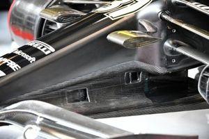 Bodywork detail on Esteban Ocon, Renault F1 Team R.S.20