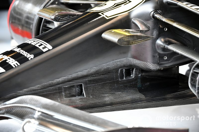 Bodywork detail on Esteban Ocon, Renault F1 Team R.S.20