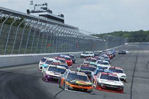 Noah Gragson, JR Motorsports, Chevrolet Camaro, Myatt Snider, RSS Racing, Chevrolet Camaro