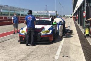 Paolo Palanti, Ronnie Valori, BF Motorsport, Audi RS 3 LMS