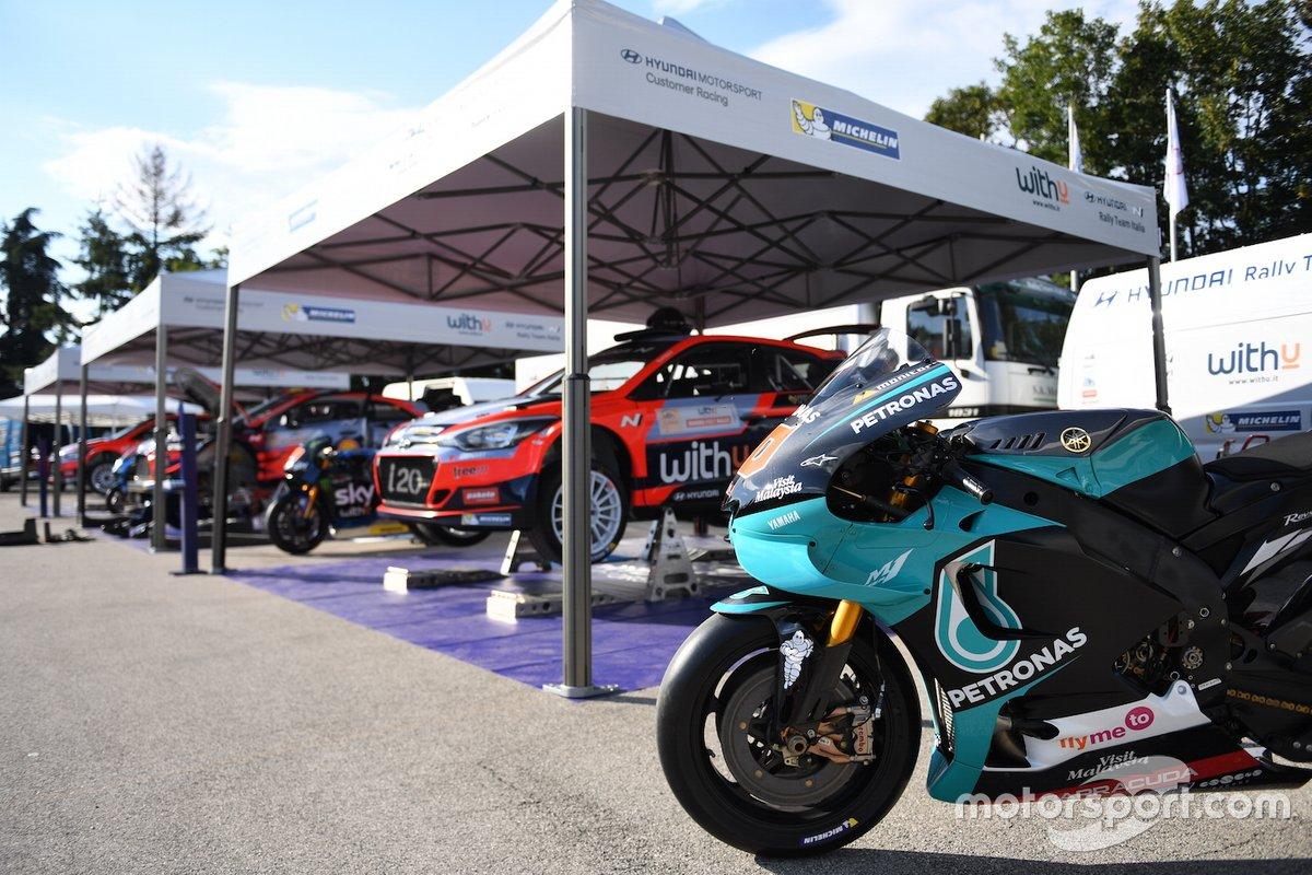 Hyundai I20 R5, la moto de Fabio Quartararo, Yamaha Petronas