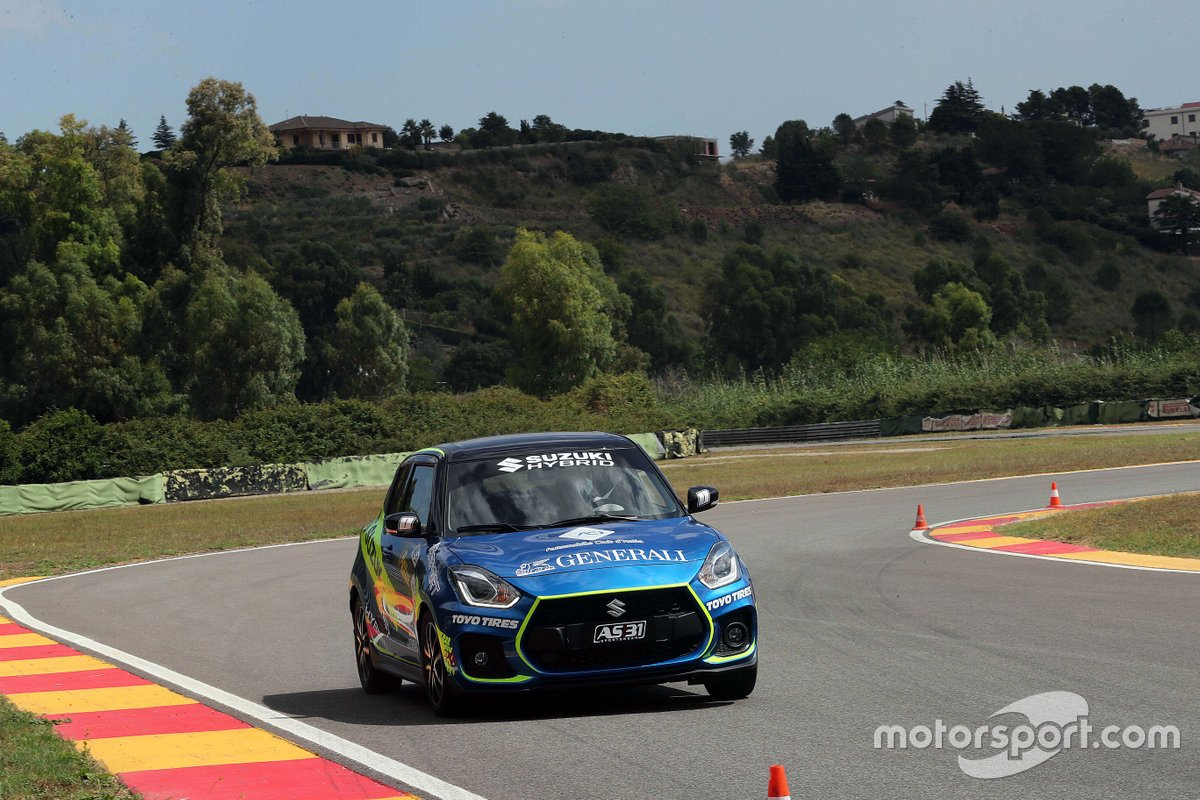 Suzuki Swift Sport Hybrid R1, Rally Italia Talent