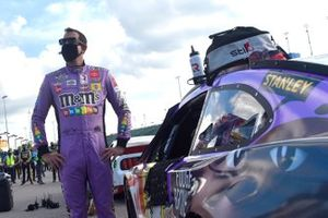 Kyle Busch, Joe Gibbs Racing, M&M's Fudge Brownie Toyota Camry